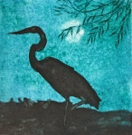Heron At Night